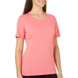 Coral Bay Womens Forever Sanibel Solid Top
