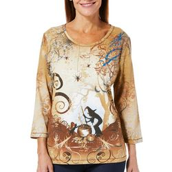 Coral Bay Womens Witch Brew Top