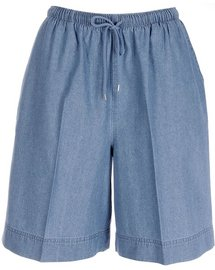 Coral Bay Womens Denim Pull On Shorts