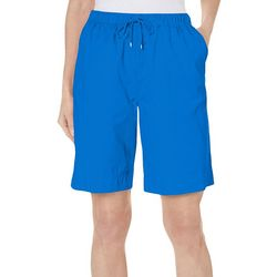 Coral Bay Womens The Everyday Ocean Drive Drawstring Shorts