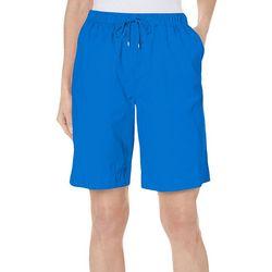 Coral Bay Womens Ocean Drive Drawstring Shorts