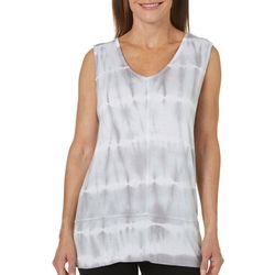 Onque Womens Tie Dye Sleeveless Top
