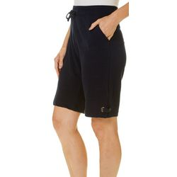 Onque Womens Playing The Blues Bermuda Shorts
