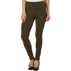 Teez-Her Womens Pull On Solid Jeggings