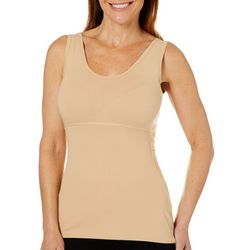 Teez-Her Womens Solid Shell Tank Top