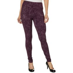 Teez-Her Womens Scroll Print Jeggings