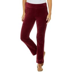 Teez-Her Womens Velour Pull On Pants
