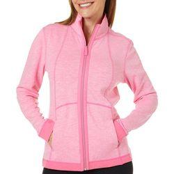 Three Hearts Womens Reversible Zip Up Jacket