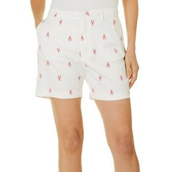 Fresh Womens Lobster Print Shorts