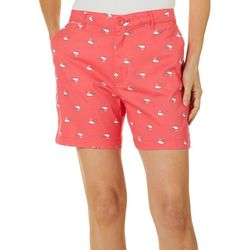 Fresh Womens Whale Print Shorts