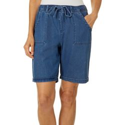 Erika Womens Riley Pull On Drawstring Shorts
