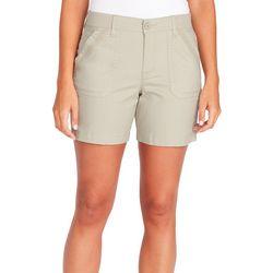 Gloria Vanderbilt Womens Knit Waist Utility Shorts