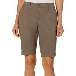 Gloria Vanderbilt Womens Nimah Bermuda Shorts