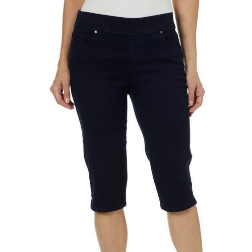 bf2eaf6e598 Gloria Vanderbilt Womens Avery Pull On Skimmer Shorts