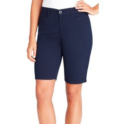 Gloria Vanderbilt Womens Amanda Trouser Bermuda Shorts