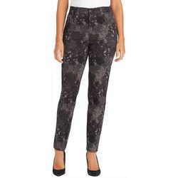 Gloria Vanderbilt Womens Amanda Paisley Skinny Jeans