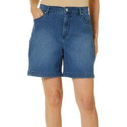Gloria Vanderbilt Womens Amanda Denim Shorts