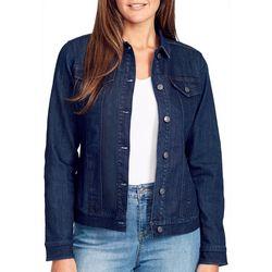 Gloria Vanderbilt Womens Ellie Denim Jacket