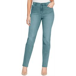 Gloria Vanderbilt Womens Amanda High Rise Tapered Jeans