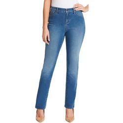 Gloria Vanderbilt Womens Rail Straight Leg Jeans