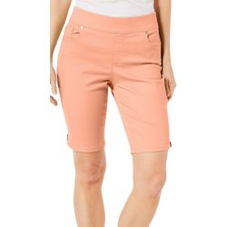 Gloria Vanderbilt Womens Avery Bermuda Shorts