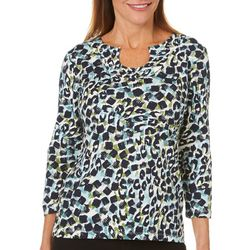 Hearts of Palm Womens Must Haves III Embellished Animal Top