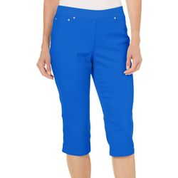 Hearts of Palm Womens Essential Tech Stretch Capris