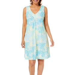 Hearts of Palm Womens Palm Perfect Tropical Dress