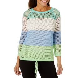 Hearts of Palm Womens Blue Genie Pull Over