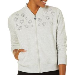 Hearts of Palm Womens Steeling The Scene Embellished Jacket