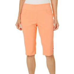 Hearts of Palm Womens Citrus Blast Skimmer Shorts