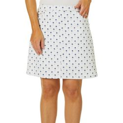 Hearts of Palm Womens Essential Palm Tree Tech Stretch Skort