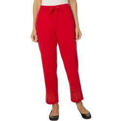 Hearts of Palm Womens Rue De La Ruby Pull On Pants
