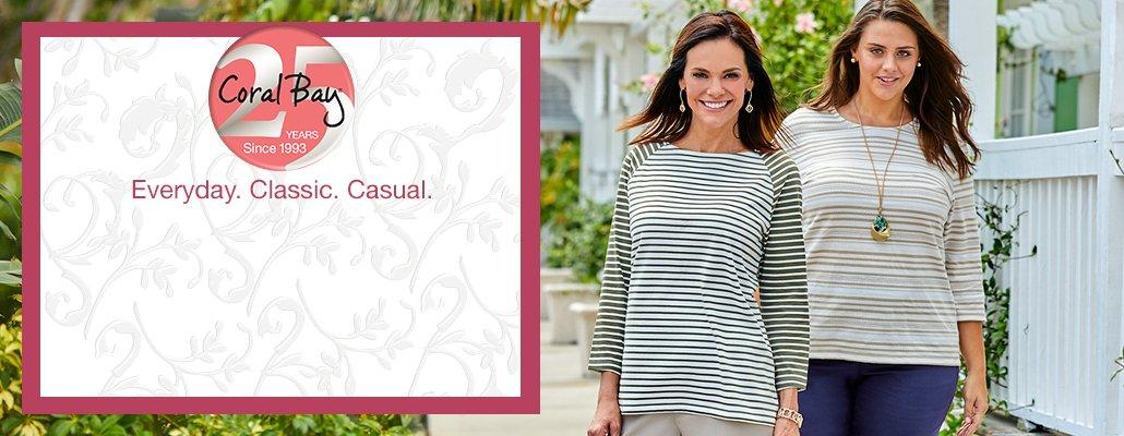 Coral Bay | Everyday. Classic. Casual.