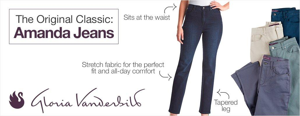 The Original Classic: Amanda Jeans by Gloria Vanderbilt