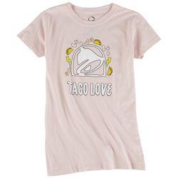 Ripple Junction Juniors Taco Bell Love T-shirt