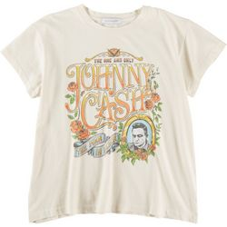 DAYDREAMER Womens Johnny Cash Graphic T-Shirt