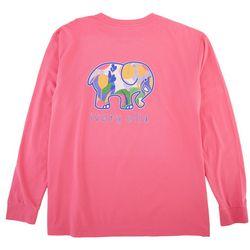 Ivory Ella Juniors Elephant Long Sleeve T-Shirt