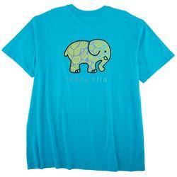 Ivory Ella Juniors Elephant & Smiles Organic Cotton