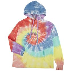 Ivory Ella Juniors Tye Dye Screen Print Drawstring