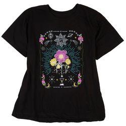 Pretty Rebel Juniors Full Solar Eclipse T-Shirt