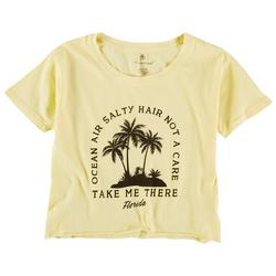 U.S Vintage Juniors Take Me There Crop T-Shirt