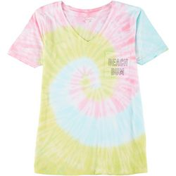 Exist Juniors Beach Bum Tie Dye T-Shirt