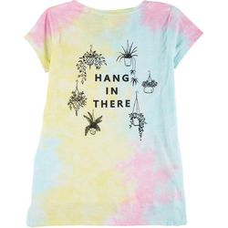 Exist Juniors Tie Dye Hang In There T-Shirt