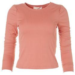 Juniors Long Sleeve Ribbed Sweater