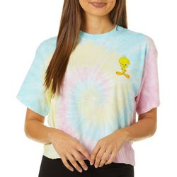 Hybrid Juniors Tweety Bird Tie Dye T-Shirt