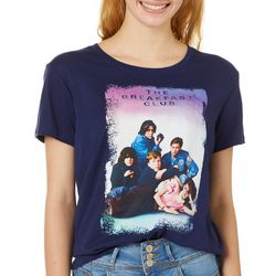 The Breakfast Club Juniors Cover Print T-Shirt By Hybrid