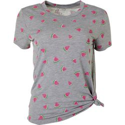 Cold Crush Juniors Watermelon Print Tee