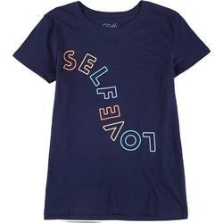 Gold Rush Juniors Self Love Graphic T-Shirt