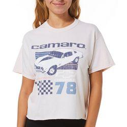Camaro Juniors Screen Print Design T-Shirt By Hybrid